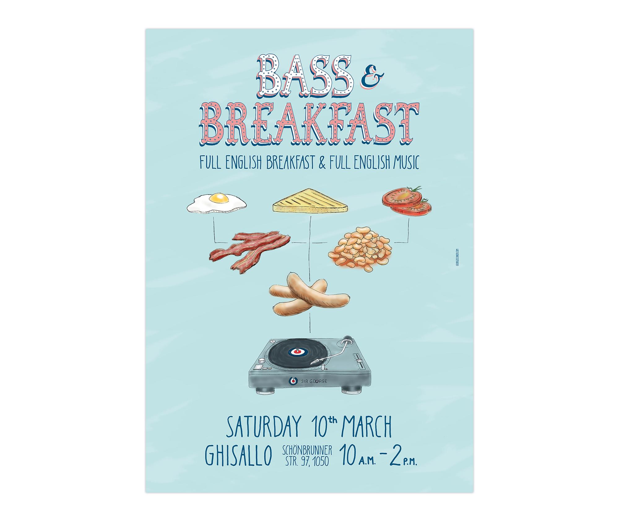 Bass&Breakfast_Plakat
